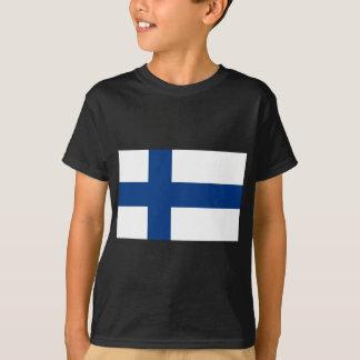 Flag of Finland - Suomen Lippu - Siniristilippu T-Shirt