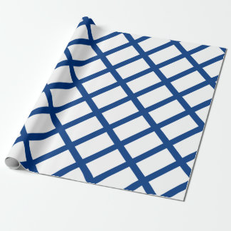 Flag of Finland - Suomen Lippu - Siniristilippu Wrapping Paper