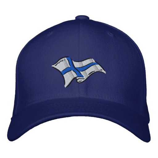 Flag of Finland Suomi flag for Finns Embroidered Baseball Hat