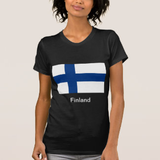 Flag of Finland T Shirts