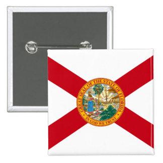 Flag of Florida Pinback Buttons