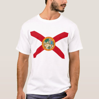 Flag of Florida Distress Signal T-Shirt