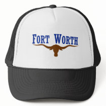 Flag of Fort Worth Texas Trucker Hat