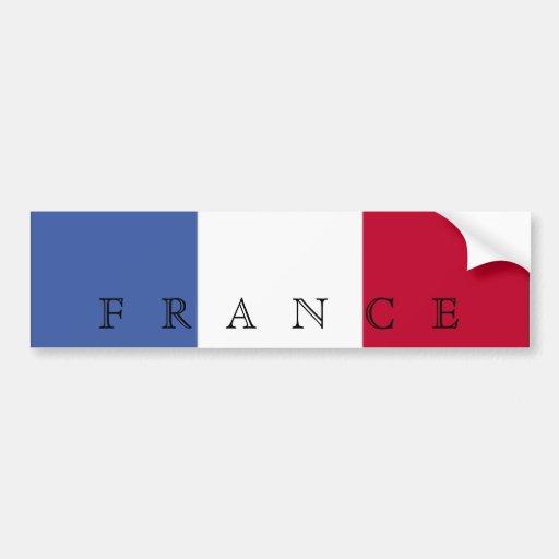 Flag of France Bumper Sticker Car Bumper Sticker