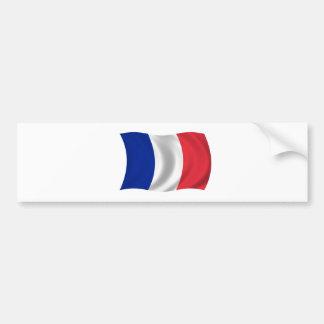 Flag of France Car Bumper Sticker