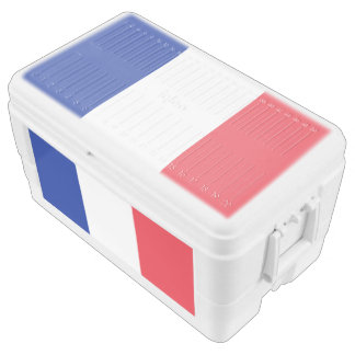 Flag of France Chest Cooler