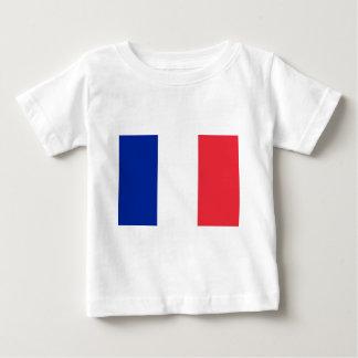 Flag of France; French Flag, Drapeau de la France Baby T-Shirt