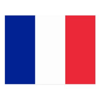 Flag of France; French Flag, Drapeau de la France Postcard