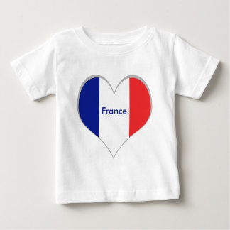 Flag of France French Tricolore Baby T-Shirt