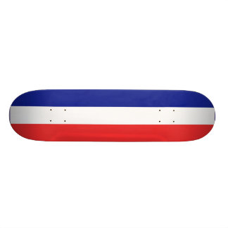 Flag of France French Tricolore Skateboard Deck