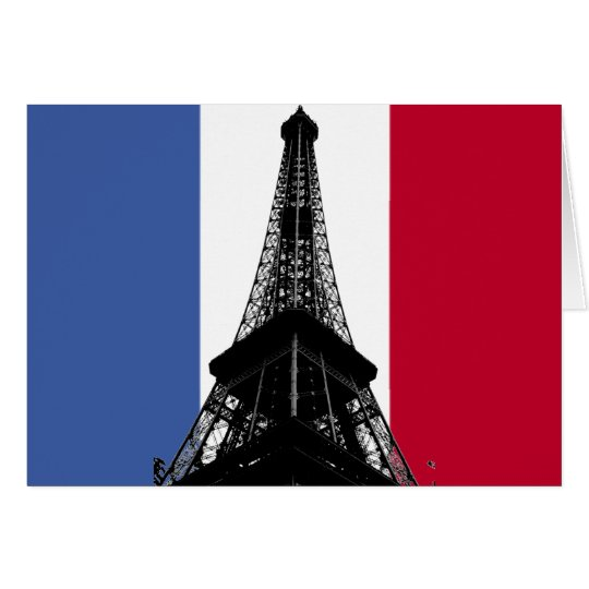 Flag of France Greeting/Note Card