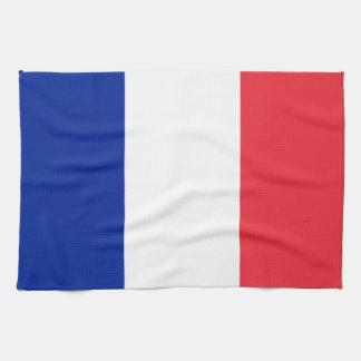 Flag of France Kitchen Towel