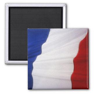Flag of France 2 Inch Square Magnet