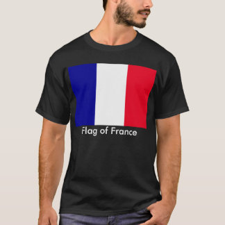 Flag of France Men's Basic Dark T-Shirt