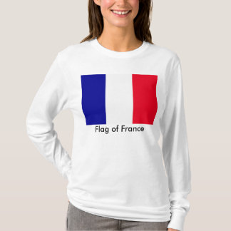 Flag of France Nano Long Sleeve T-Shirt