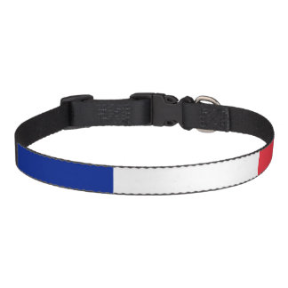 Flag of France Pet Collar