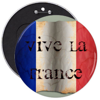 Flag of France Pinback Button