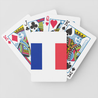 Flag of France Bicycle Poker Deck