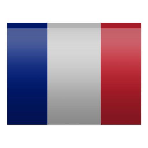 Flag of France Post Card