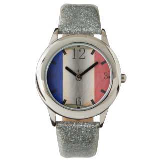 Flag of France s Wrist Watch
