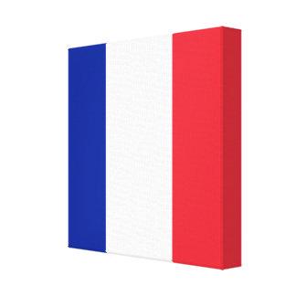 Flag of France, Tricolour National Flag Canvas Print