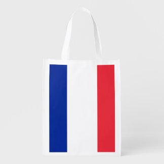 Flag of France, Tricolour National Flag Grocery Bag