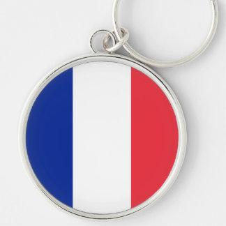 Flag of France, Tricolour National Flag Keychain