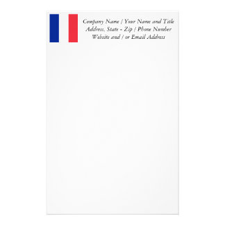 Flag of France, Tricolour National Flag Stationery