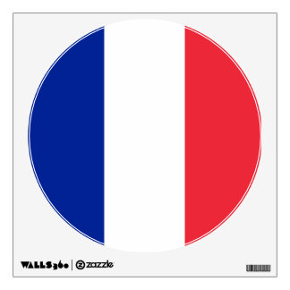 Flag of France, Tricolour National Flag Wall Decal