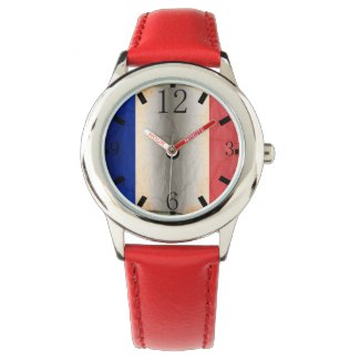 Flag of France Wristwatch