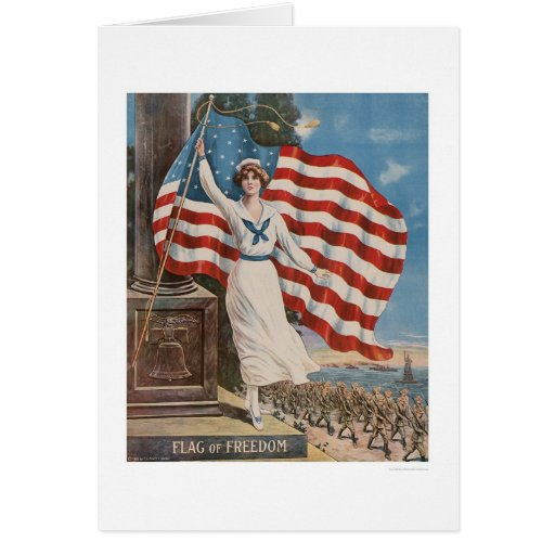 Flag of Freedom Cards