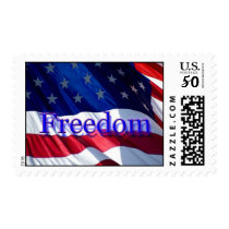 Flag Of Freedom Stamp