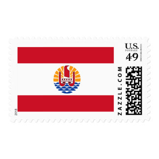 Flag of French Polynesia Postage Stamps