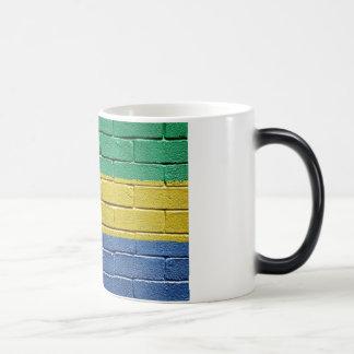 Flag of Gabon Magic Mug