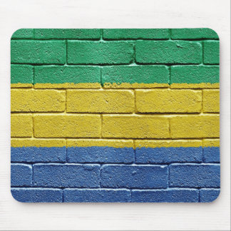 Flag of Gabon Mouse Pad