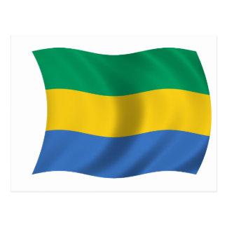 Flag of Gabon Postcard