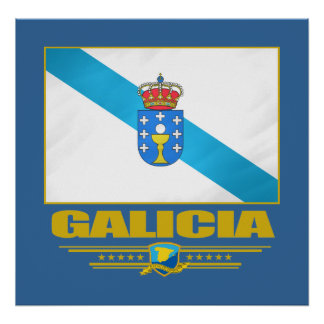 Flag of Galicia Posters