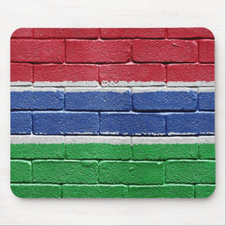 Flag of Gambia Mouse Pad