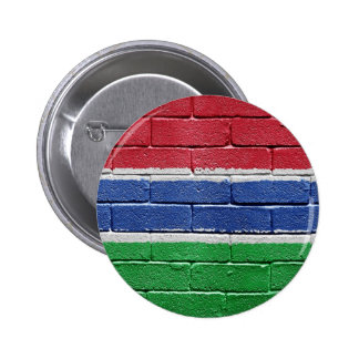Flag of Gambia Pinback Button