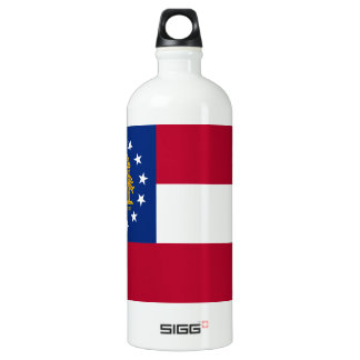 Flag of Georgia Aluminum Water Bottle