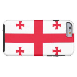 Flag of Georgia Tough iPhone 6 Case