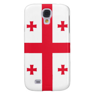 Flag of Georgia (Country) Galaxy S4 Cases