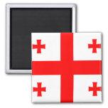Flag of Georgia (country) Magnet