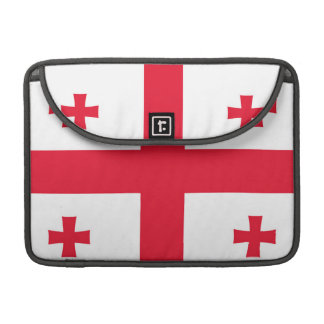 Flag of Georgia (country) - Sleeve For MacBook Pro