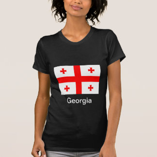 Flag of Georgia (country) T-shirts