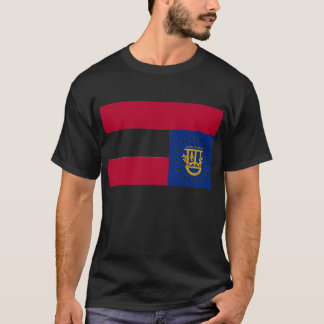 Flag of Georgia Distress Signal T-shirt