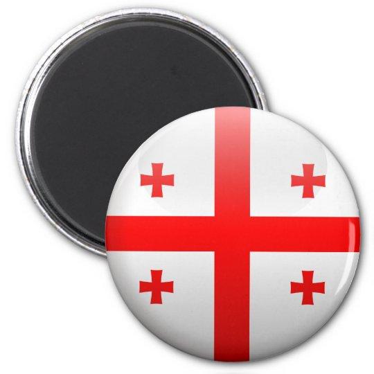 Flag of Georgia Magnet