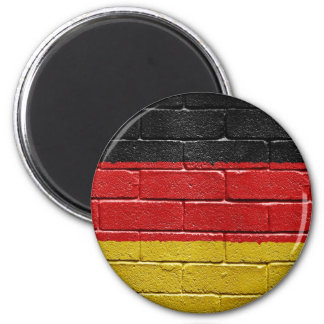 Flag of Germany 2 Inch Round Magnet