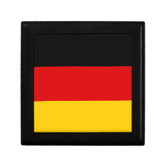 Flag of Germany - Bundesflagge und Handelsflagge Jewelry Box