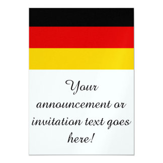 Flag of Germany Card